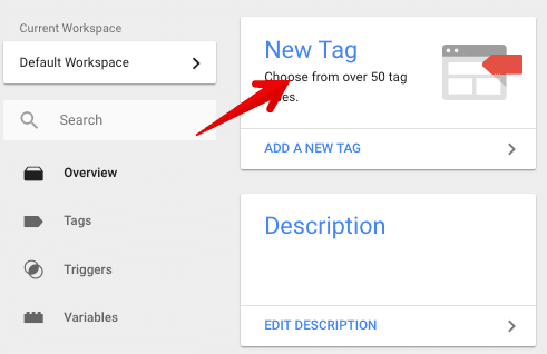create a new tag