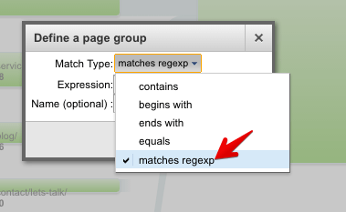 define page group