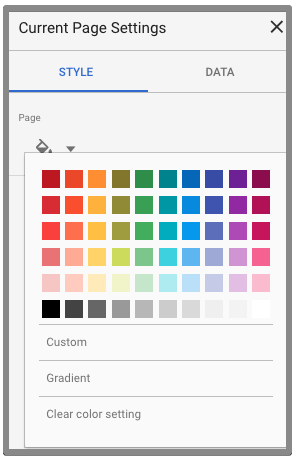 change color current page