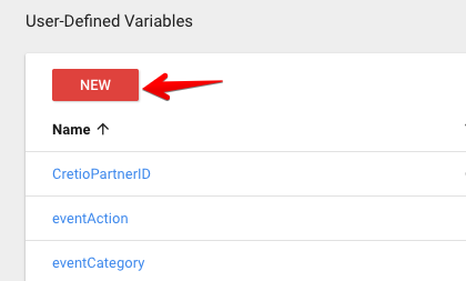 enable user-defined variables